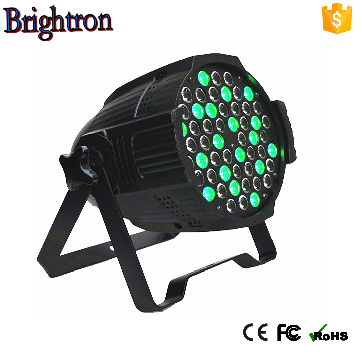 quiet sound brightness uplight 543w rgbw led par can stage light club KTV wedding effect