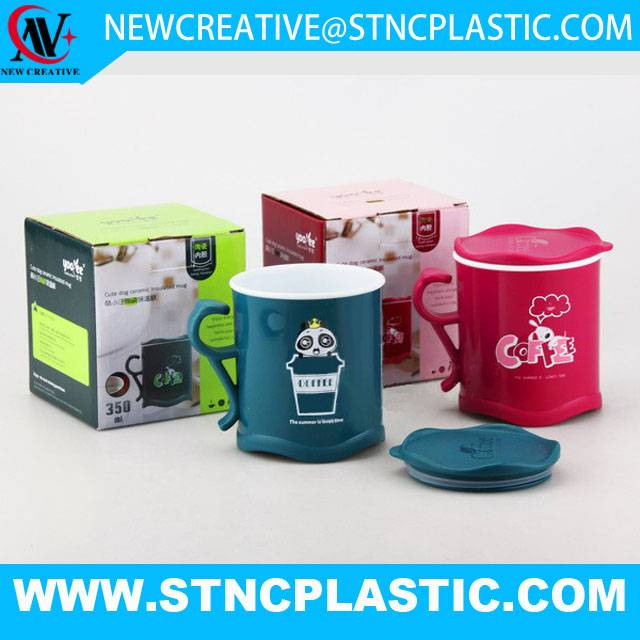 High quality plastic mug at reasonable prices 400ml