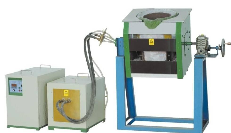 medium frequency induction melting furnaces