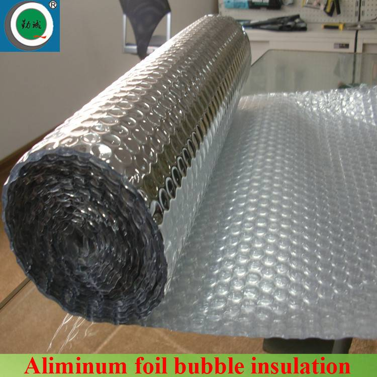 thermal insulation Metalized Aluminum Bubble Insulation Fireproof Bubble Insulation Aluminum Foil Bu