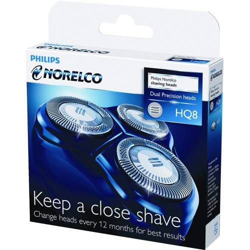 Norelco - HQ8 52 Replacement Shaving Head - Black
