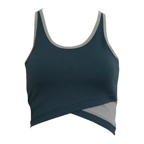 1SSB_001_GN Yogawear TOP (Green)