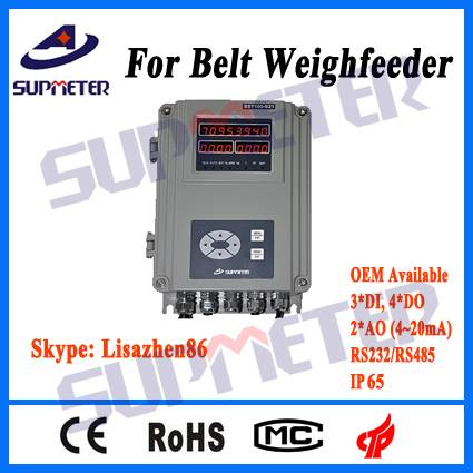 weighing indicator for belt scale