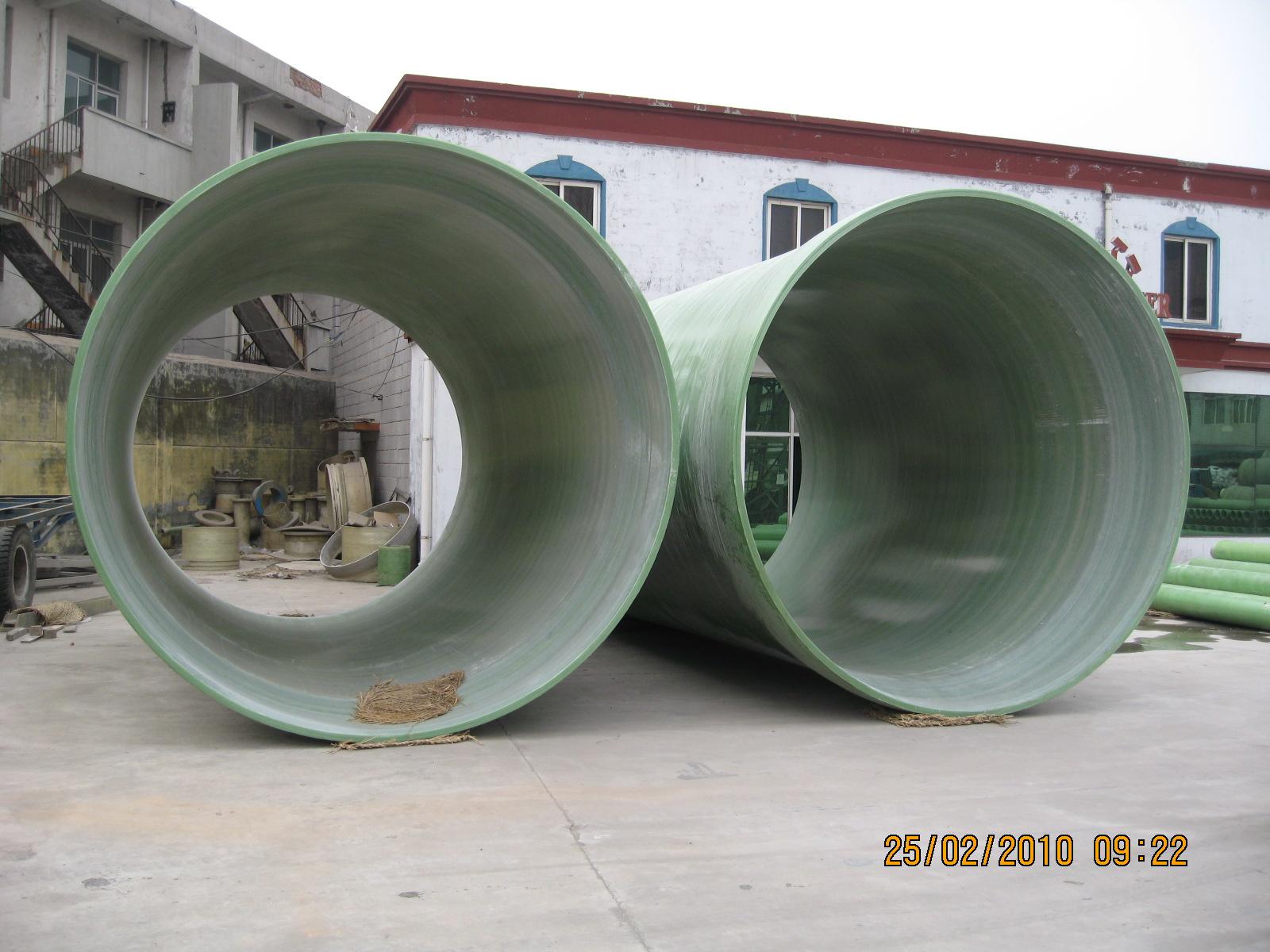 FRP/GRP mortar pipe