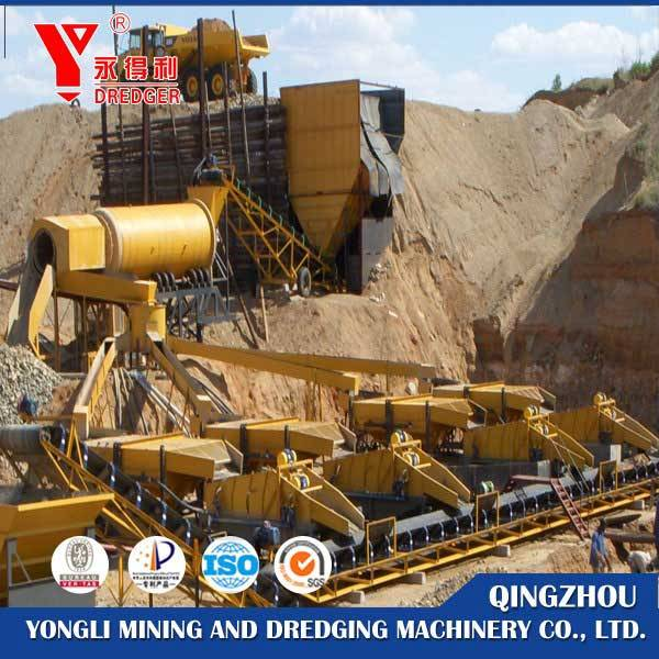 dry-land gold washing plant  for sale