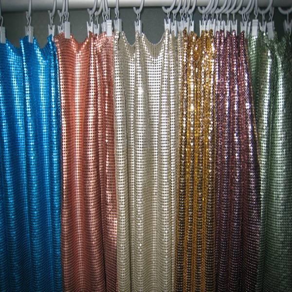 Sequins Fabric Mesh Cloth As Decorative Curtain