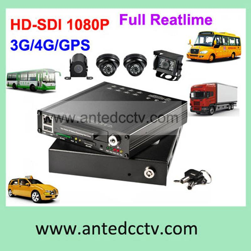 school bus high definition video camera Mobile DVR system
