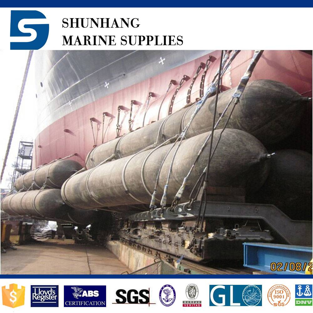first-rate supplier for inflatable rubber ship airbag