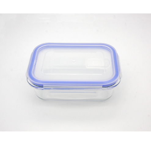 Rectangle high borosilicate glass food container box