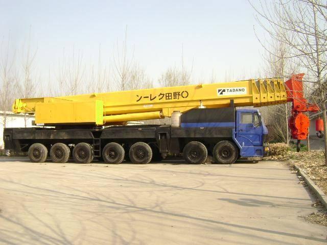 Used all terrain crane tadano ga 3600h