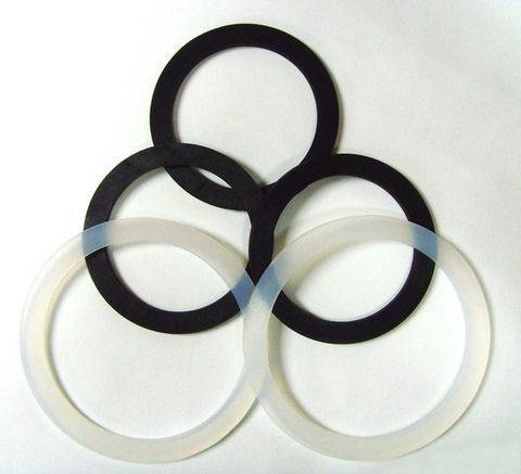 Food grade 100% virgin silicone O ring with translucent, dark red etc.