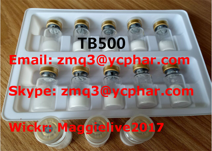 Peptide Powder Tb500 Thymosin Beta-4 Acetate CAS 77591-33-4