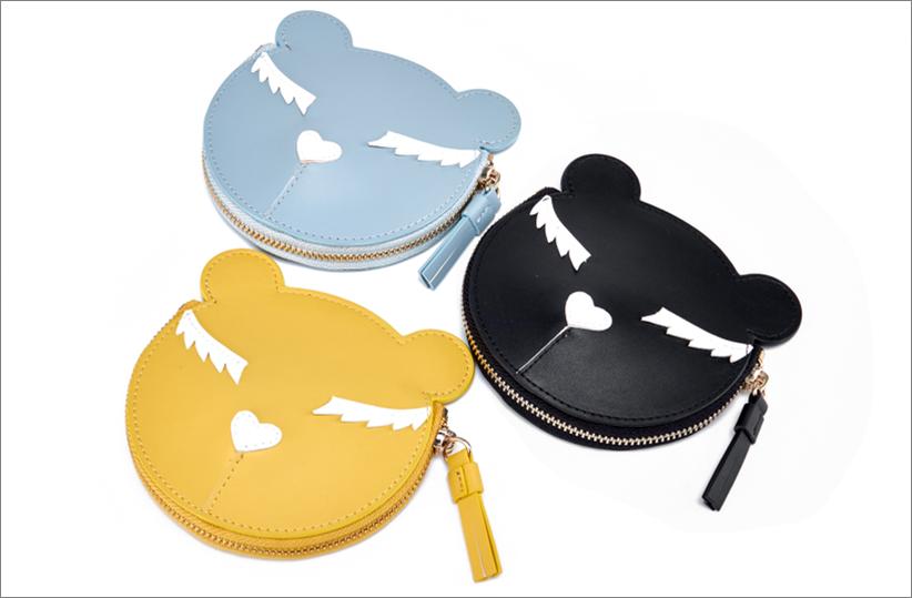 2018 new fashion purse cute cartoon coin purse