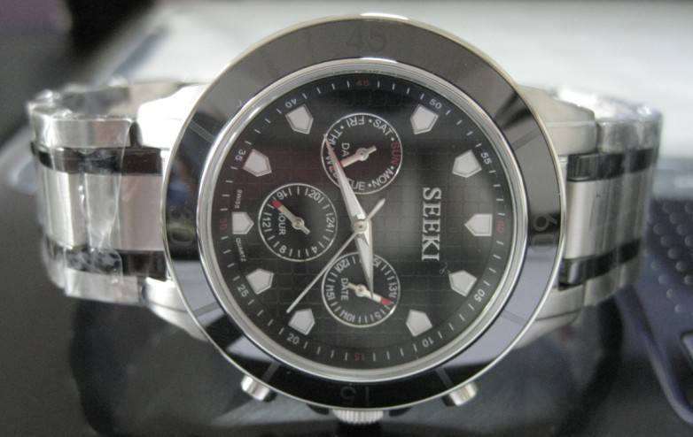 Stainless steel gift watch