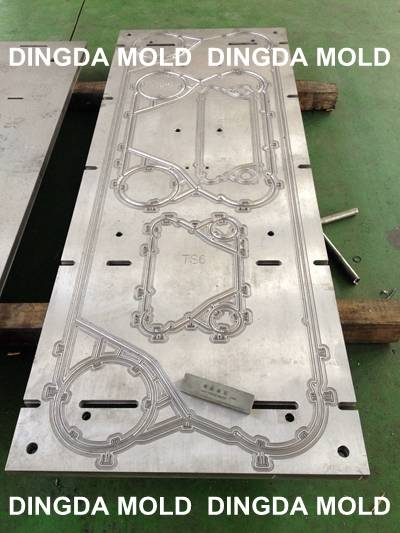 Rubber mold, TS6, GC18, TS20, MX25 gasket mould Multi-cavity, heat exchanger mould