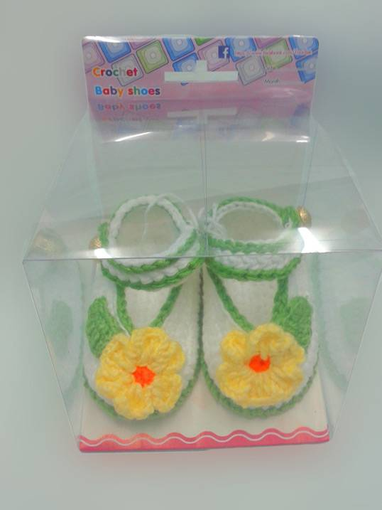 baby shoes crochet sandals 100 % hand make in Thailand high quality