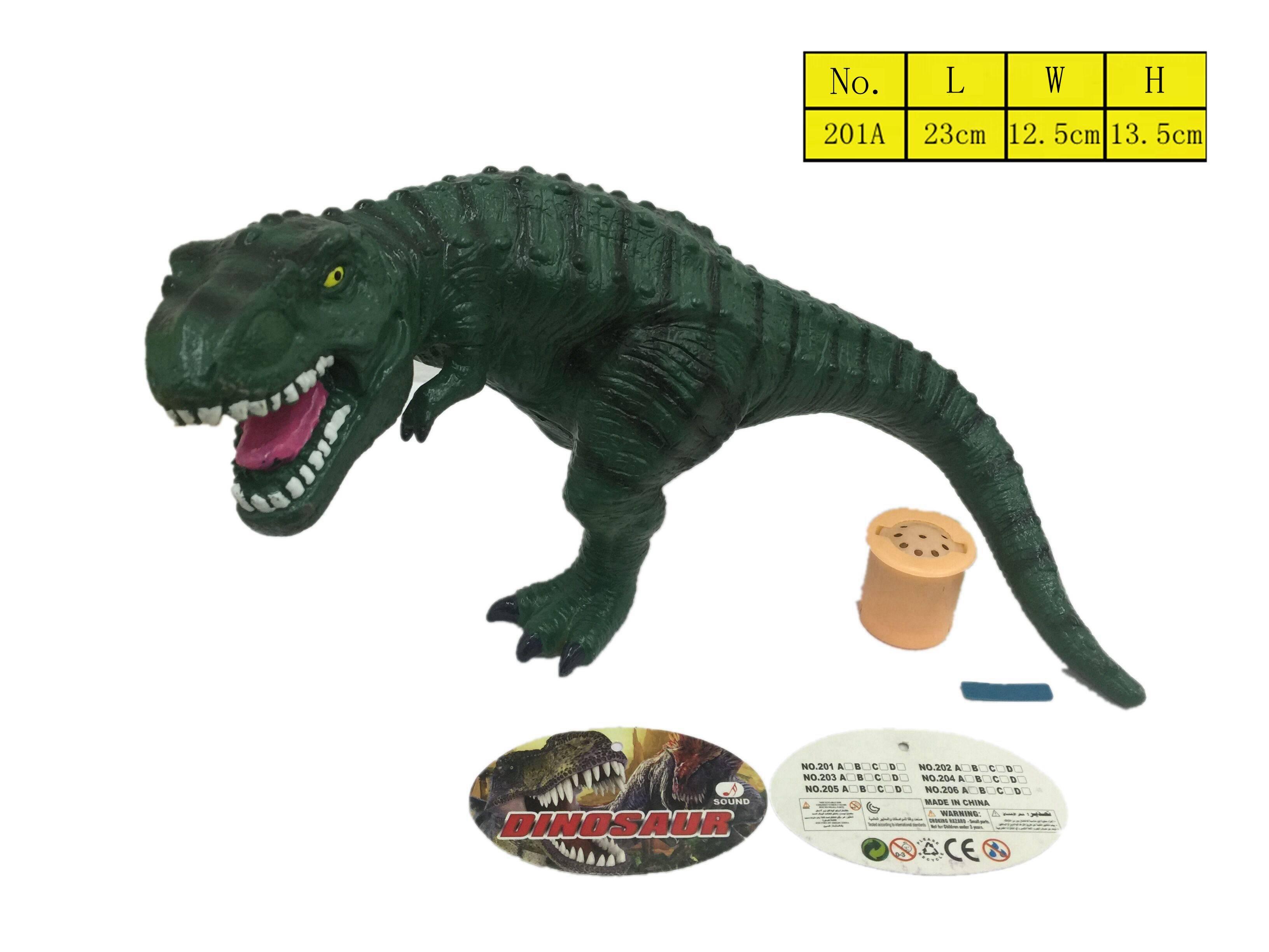 Vinyl Stuffed Cotton Dinosaur vinyl Toys Model with sound for Kids