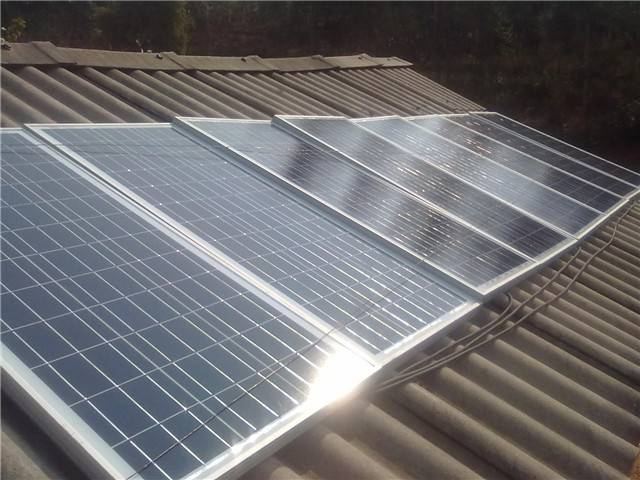 Off grid 1000W solar generator system for residence