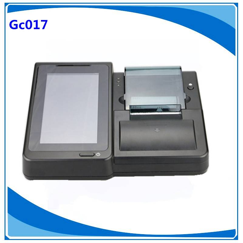 High quality android pos machine with impact printer  and IC card reader for  retail industry