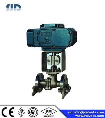 KOSO KE301K Electric Straight Through Ball Valve