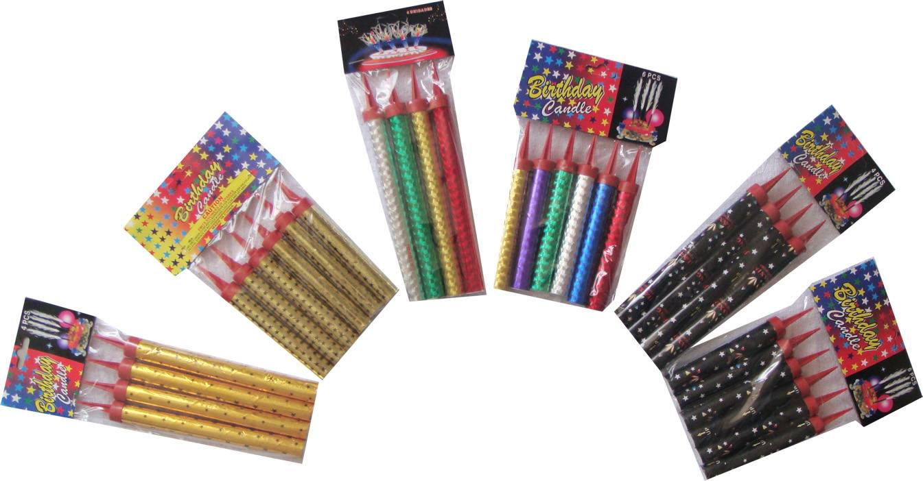 Fireworks Manufacture 12cm 30sec Birthday Candles Ice Fountain