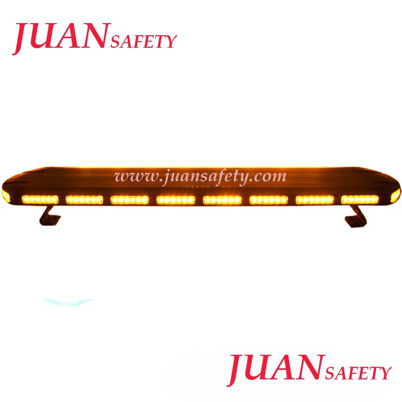 Hot Low-Profile Aluminum alloy Body with hige power leds warning lightbar TBD2163