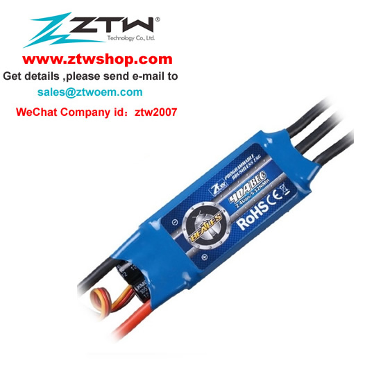 ZTW Beatles 40A Brushless ESC for RC Airplane