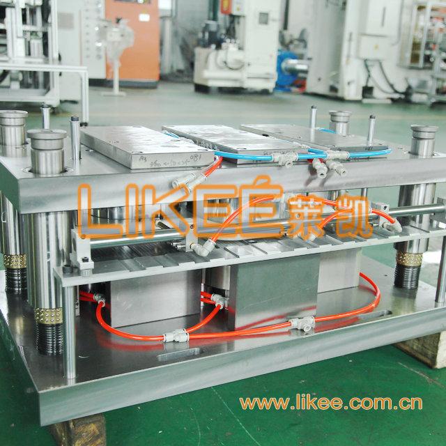 Disposable aluminium foil dishes mould