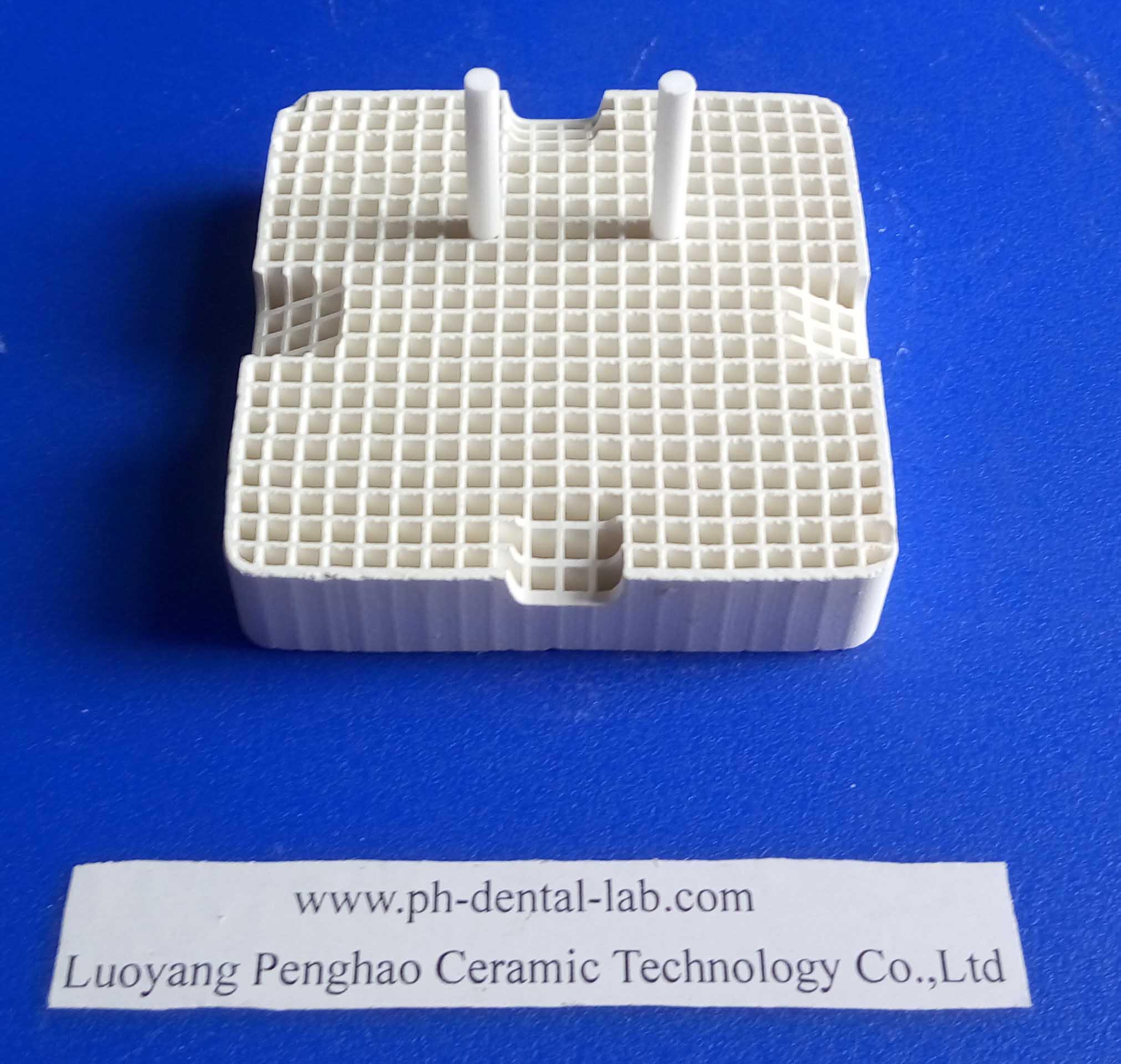 PH High Quality (Square Shape) Dental Honeycomb Firing Tray ( ceramic pins)