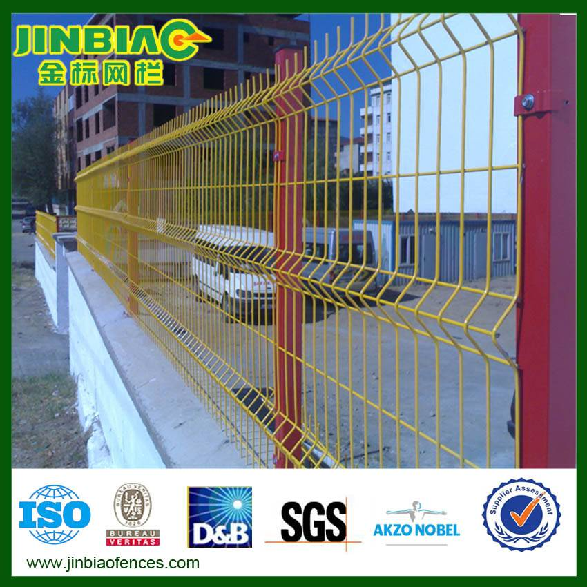 Curve Wire Mesh Fence/Wire Mesh Fence Panel(factory)