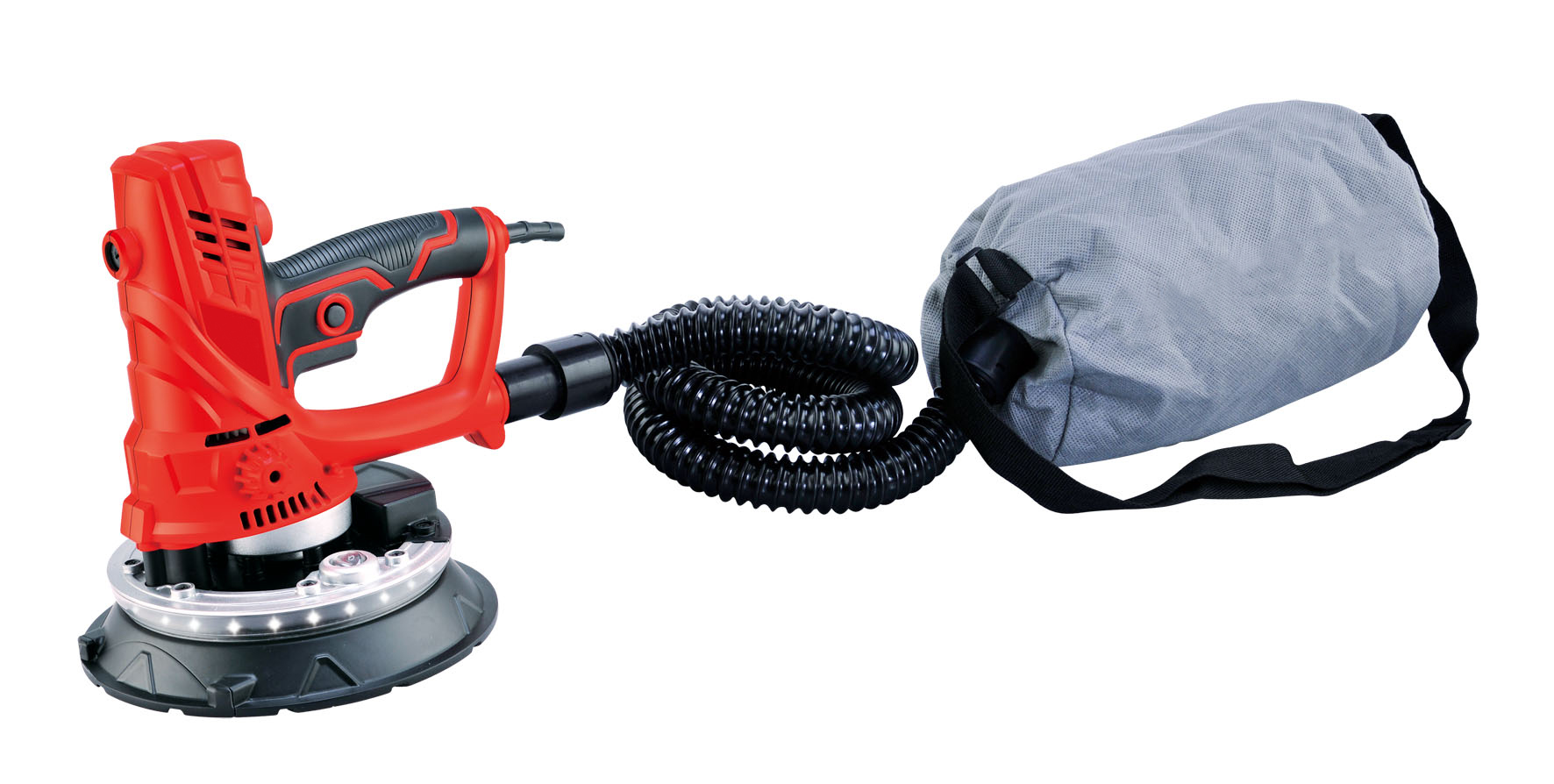 ERAY-700D-8 drywall sander with automatic vacuum system