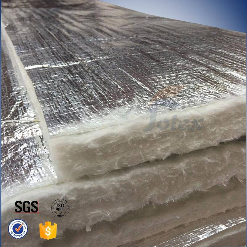133kg/m3 Alu Coated Glass Fiber Needle Mat for Industrial Thermal Insulation