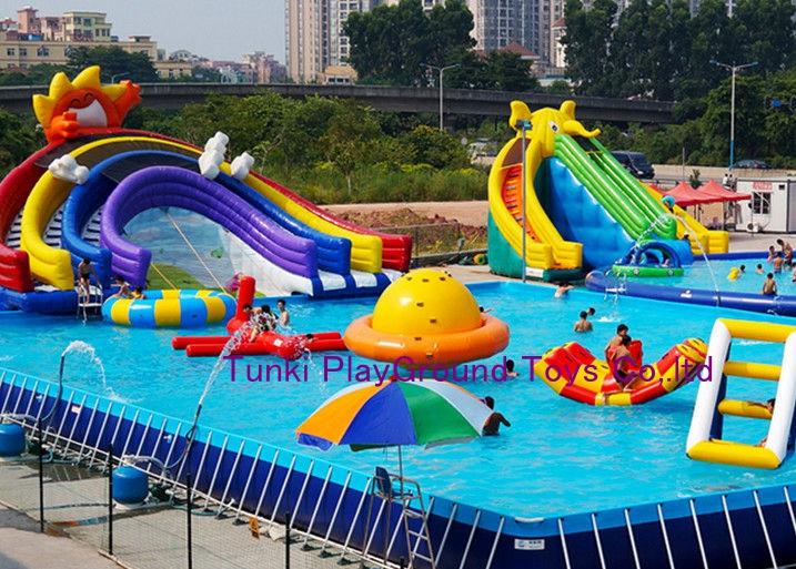 inflatable pool slide swimming pool pvc pool frame pool