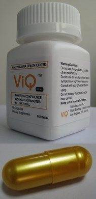 ViQ Herbal Male Sexual Enhancement, Male Sexual Stamina, Food Supplement for Erectile Dysfunction