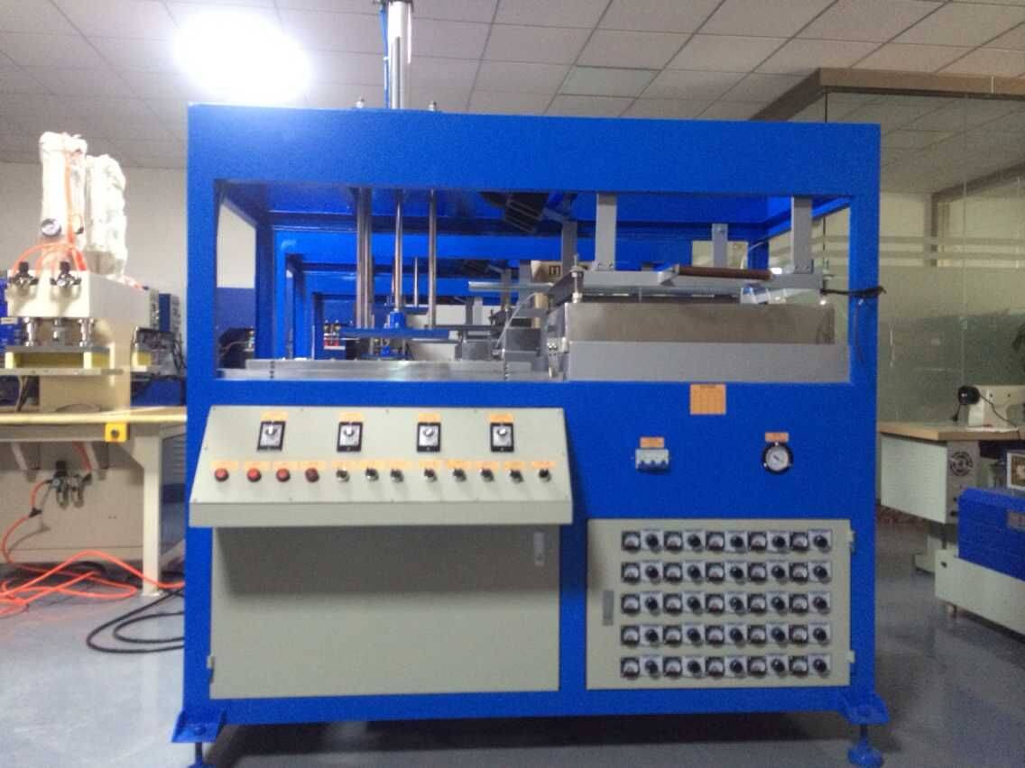 Semi-automatic single station vacuum forming machine, machine for sale