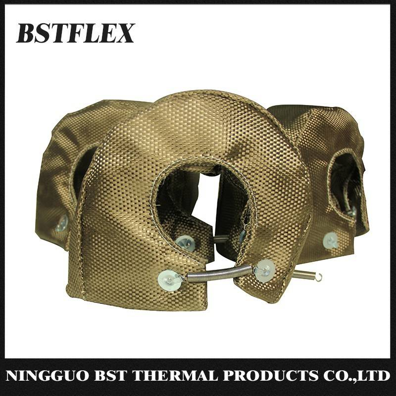 Titanium Turbo Blanket Turbocharge Heat Shield