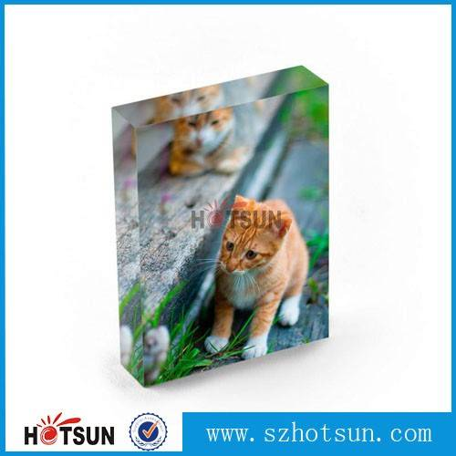 skillful manufacture clear acrylic photo block wholesale