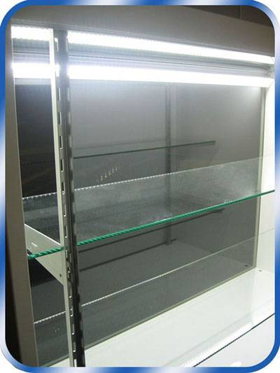 LED Display Case/Jewelry Case Linear Strip Lights, Under Cabinet and Cove Lighting
