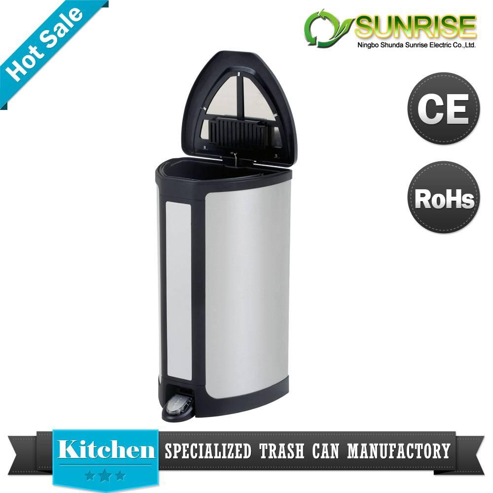 Sensor Stainless Steel Pedal Dustbin