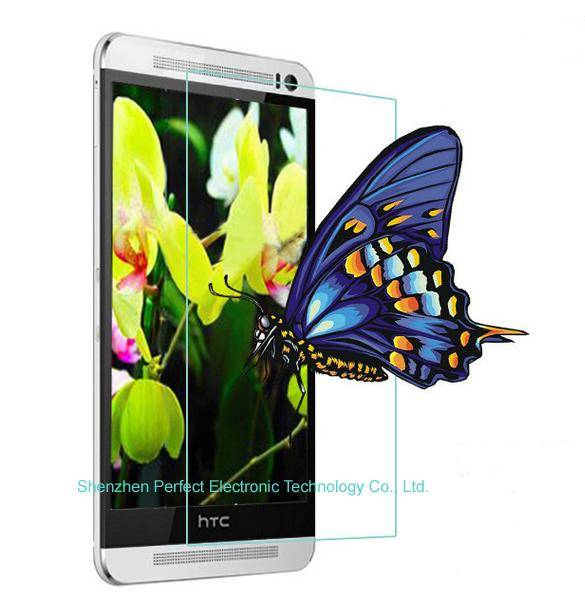 Cheap Mobile Phone Accessories Tempered Glass Screen Protector For HTC