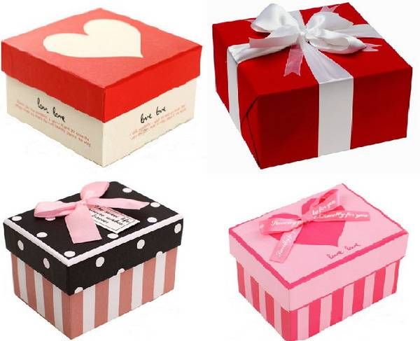 Corrugated Paper box for gift