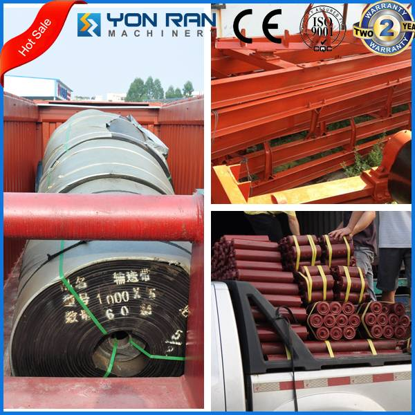 Guangzhou 17years manufacture nylon rubber belt conveyor for cement plant