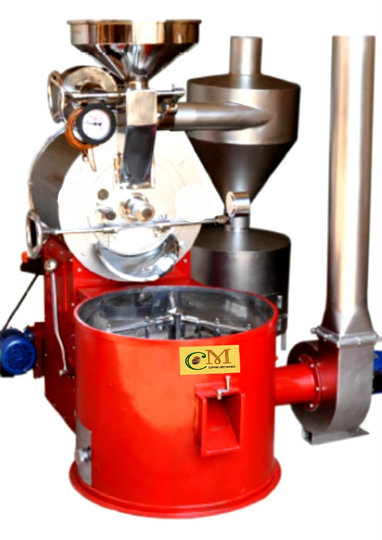 Commercial Coffee Roaster 20 kg per cycle