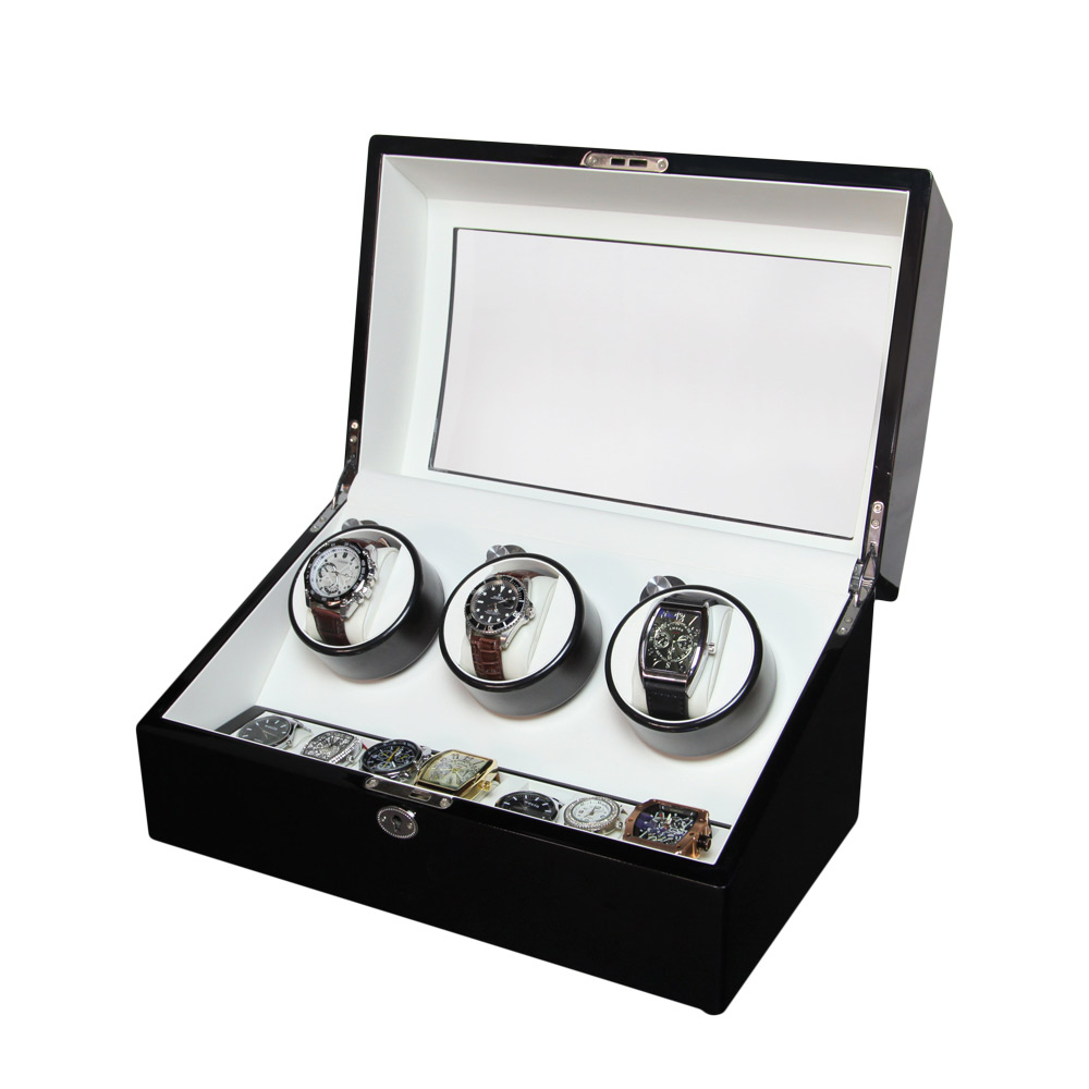 3+7 Automatic Wooden Mechanical Wrist Watch Winder BoxAutomatic Watch Winder