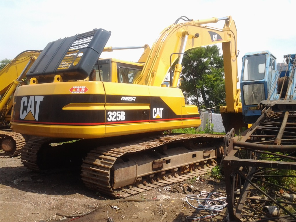 2011Most popular architectural engineering Used High quality Caterpillar crawler excavator 325b 320b