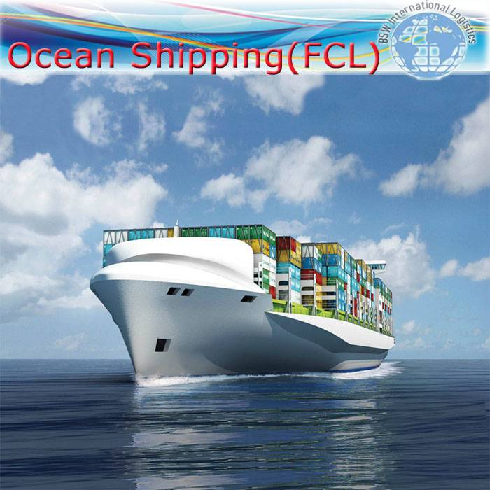 Sea shipping as FCL from Wuhan/Tianjin/Nanjing to Tunis