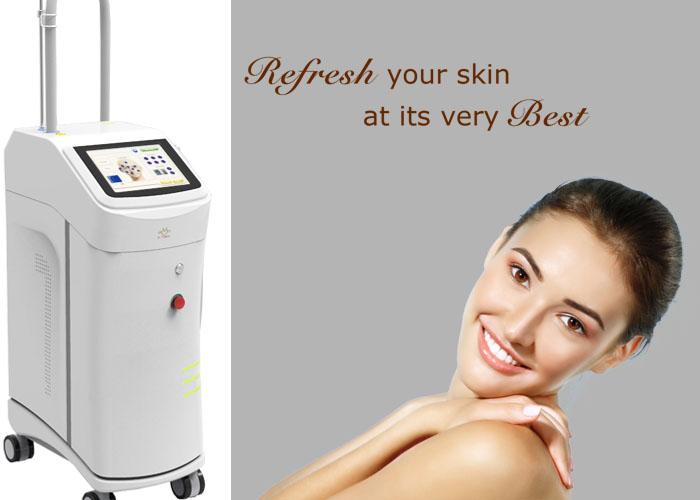 Er Glass Fractional Wrinkle Laser Machine For Skin Care , Anti Aging Laser Device