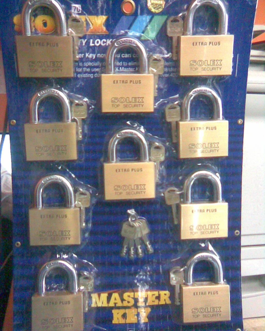SOLEX TOP SECURITY PADLOCK DUBAI, PAD LOCK DUBAI - AMB COMPUTERS
