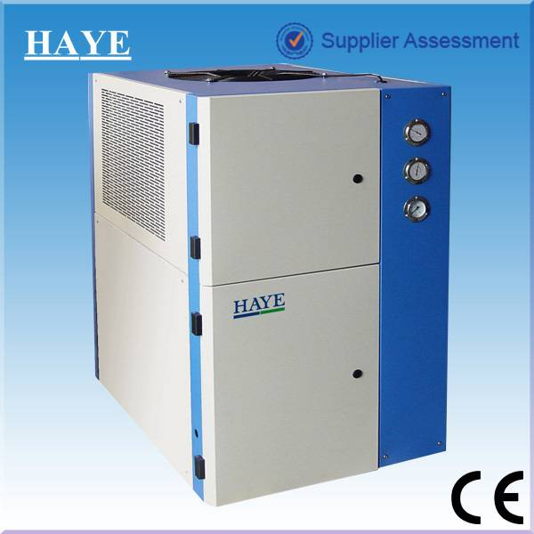 Industrial water cooled packaged water chiller