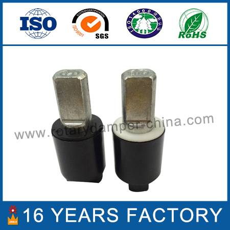 Hardware axis damper for washing machine cover